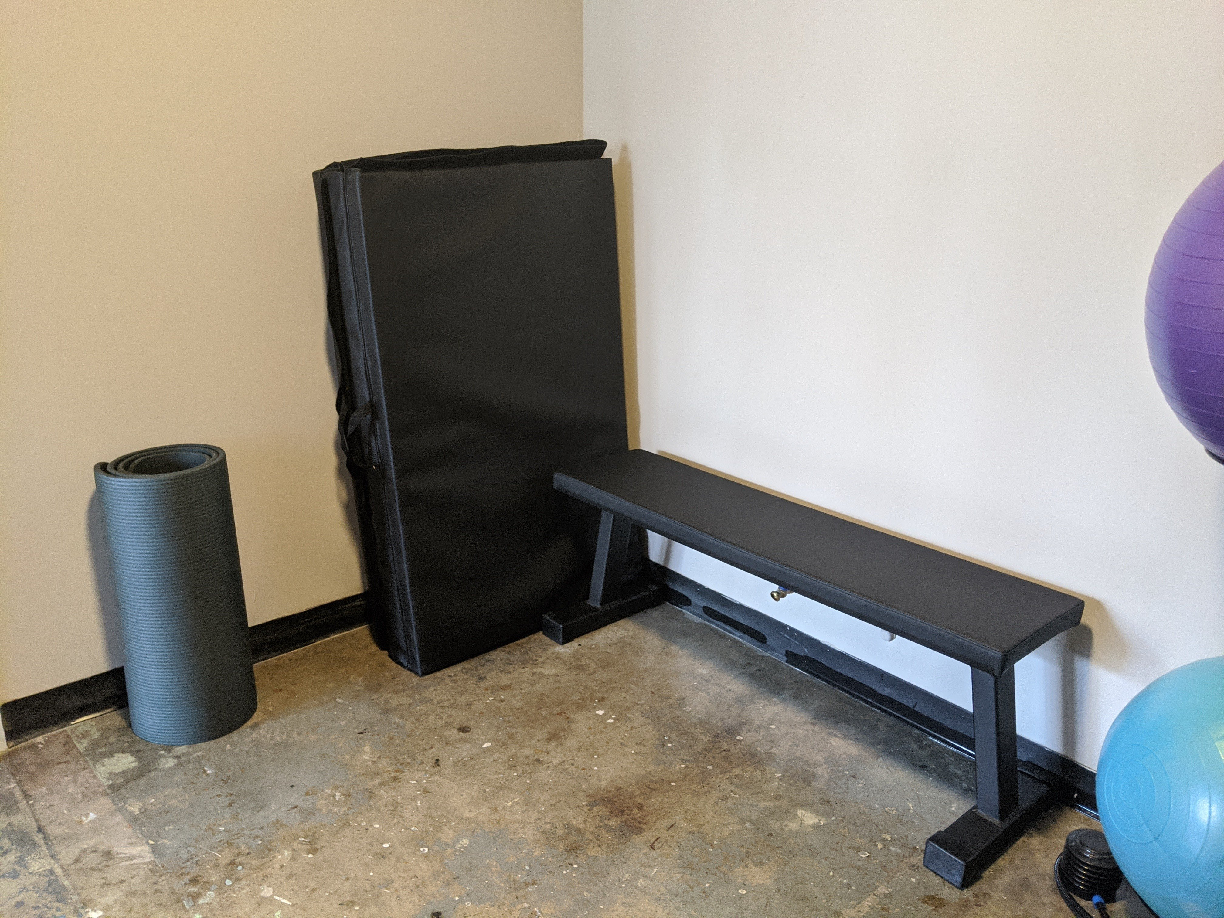 Utility bench and mats